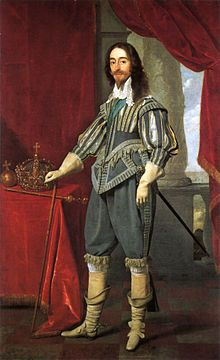 Charles I (1625 - 1649) His arrogance and belief in the Divine Right of Kings led to the English Civil War. After the war he was put on trial for high treason and beheaded.