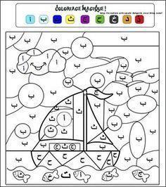 Apprendre l'alphabet arabe en s'amusant Arabic Alphabet Letters, Arabic Alphabet For Kids, Montessori, Learn Arabic Online, Arabic Lessons, Islam For Kids, Alphabet Coloring, Arabic Language, Learning Arabic