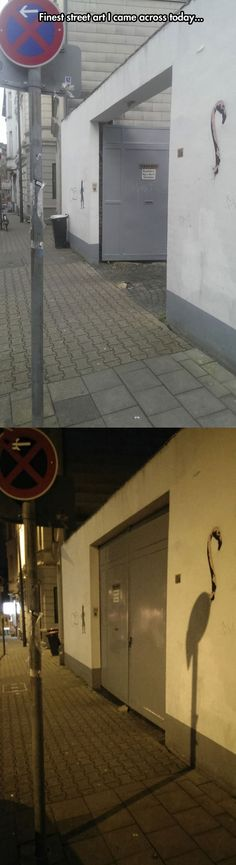 Street Art that will surprise you at night…