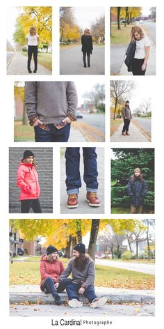 Lookbook #couple #lookbook #blogue #fashion #automne #lps Lps, Lookbook, Capri Pants, Couple, Fall, Capri Trousers, Couples