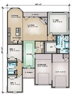 Plan 36939JG: Compact Living Space