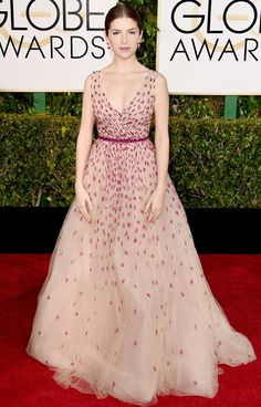 Golden Globes 2015: Red Carpet Arrivals - ANNA KENDRICK from #InStyle