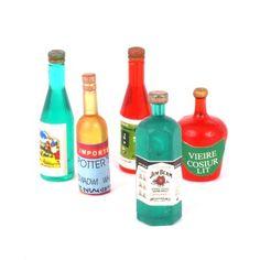 Minimum World D1751 Mixed Spirit Bottles (5)