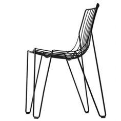 Tio chair -black - side