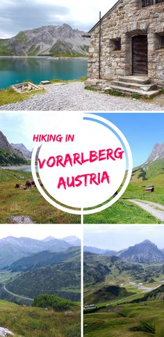 Exploring the best hiking trails in Vorarlberg, Austria. Lech Zürs am Arlberg and Alpenregion Bludenz. This mountainous region of Austria is famous for ski slopes but you can hike the valleys and peaks in summer!  Europe trip | Hiking destinations | Austria travel | Nature | Beautiful places | Outdoor activities