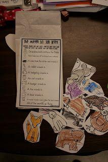 Mrs. Lee's Kindergarten: The Mitten Retelling