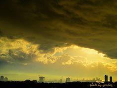 """İZMİR - Bornova, """"Yağmur sonrası, Gün batımı ve bulutlar..""""                  _yemtaş©_"""