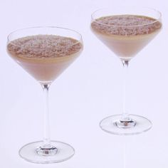 White Chocolate Espresso-Vodka Martinis By Giada De Laurentiis