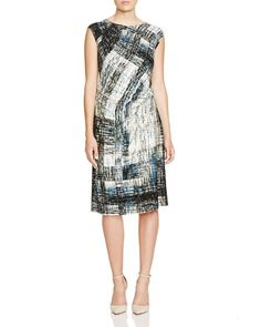 Nic+Zoe Plus Lush Lapis Dress