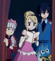 Natsu x Lucy x Gray x Happy