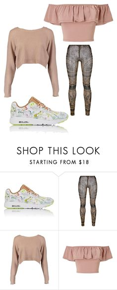 """""""Untitled #3096"""" by bellagioia ❤ liked on Polyvore featuring NIKE, Dsquared2, Boohoo and Miss Selfridge"""