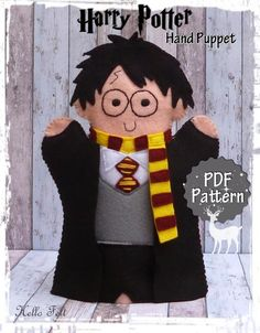 Felt Harry Potter Hand Puppet