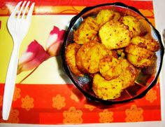Arbi is stir-fry and mildly spiced with light crunch makes a great side dish or also can be served as an appetizer. Aroma of carom seeds (ajwain) makes this dish very inviting.