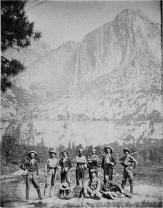 In August 1870 Joseph LeConte made his first trip to the High Sierra, with the University Excursion Party - a group of ten students.