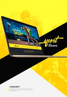 I want to create an eCommerce template for Sport store with the best usability. I inspired by some awesome Sport store and have tried to build a new trend with good UX.