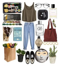 """""""807"""" by overy ❤ liked on Polyvore featuring H&M, Vans, ASOS, Olivia Burton, Helmut Lang, Giorgio Armani, Fornasetti, Jura and ...Lost"""