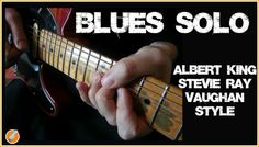 Stevie Ray Vaughan Albert King Style Blues Solo. Dozens of awesome lick ideas and tips crammed into just 12 bars of blues for you to learn...