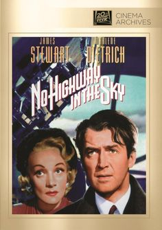 Shop No Highway in the Sky [DVD] at Best Buy. Find low everyday prices and buy online for delivery or in-store pick-up. Classic Movie Posters, Classic Movies, Glynis Johns, Bessie Love, Hero's Journey, Video On Demand, Marlene Dietrich, Music Games, Musik