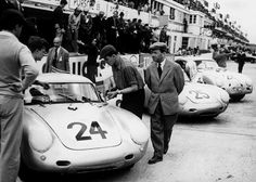 Good finish for Porsche in 1956. #25 (550A/4 RS) managed 4th. #24 (another 550) and #26 (a 356) DNF.