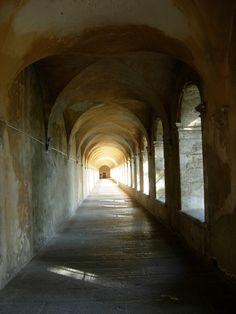 Carthusian Monastery Cloister of Valbonne,  France