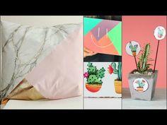 ManosalaObraTv Programa 49 Almohadones - Pintar Tela - Sellos sobre Chapa - Pizarron - YouTube Decoupage, Diy, Youtube, Handmade, Pillows, Throw Pillows, Painting Videos, Craft Videos, Drawing Techniques