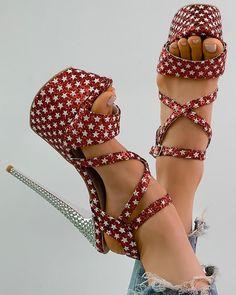 Online Fashion Stores, Womens Fashion Online, Online Shopping, Platform Stilettos, High Heels, Peep Toe Heels, Stiletto Heels, Wedge Sandals, Wedge Shoes