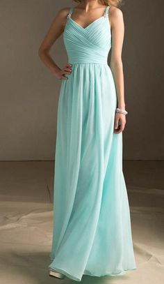Love the color, and dress is really pretty too, just not sure about neckline
