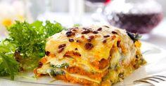 Veggie-Tipp: Rezept für die perfekte Gemüselasagne - Zutaten für 4 Personen: 250g Zucchini 250g passierte Tomaten...