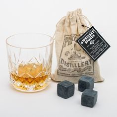 9 Whiskey Stones And Pouch Street Price Bar Tools & Accessories Home & Garden Personalized Wooden Whiskey Stone Box With Tongs