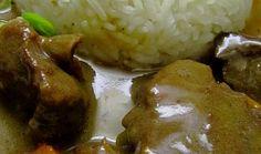 Podzimní jelení ragů Mashed Potatoes, Ethnic Recipes, Food, Whipped Potatoes, Smash Potatoes, Essen, Meals, Yemek, Eten