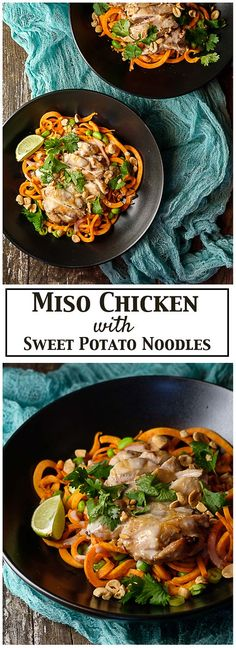 Miso Chicken with Sw
