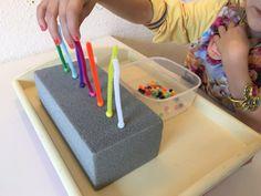 Farben sortieren mit Perlen - Abakus selber machen   Der Familienblog für kreative Eltern