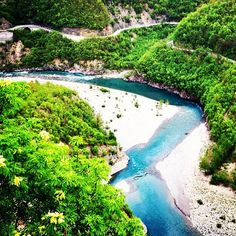 Trebbia River in Italy >>> So blue! And you can raft down it :)