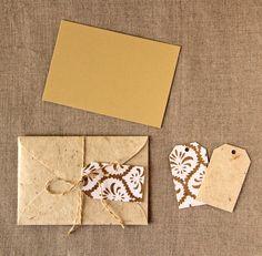 Envelope de papel decorativo - Zoopress