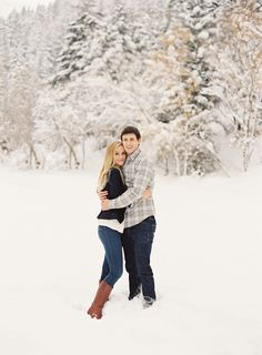 Ben & Madeline | Snowy Engagements / Ciara Richardson