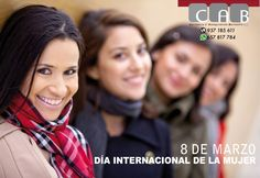 Día Internacional de la Mujer: conmemora la lucha de la mujer por su participación, en pie de igualdad con el hombre, en la sociedad y en su desarrollo.