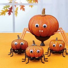 Easy Pumpkin Crafts