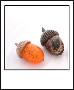 Strong Street Studio's glass acorns!