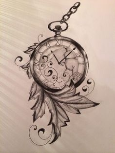 Time is run away.. made by me