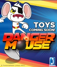 Ready for the return of the coolest mouse there is?  http://www.thetoyshop.com/brands/danger-mouse