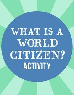 """The world is a diverse and interconnected place where objects, ideas, and people are constantly on the move. At Kid World Citizen, we believe we can prepare our children to be active, responsible """"world citizens"""" by teaching them about a variety of cultural practices and beliefs."""