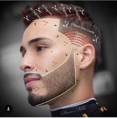 "This Haircut Is A ""High Taper Fade"". This Haircut Was Executed Using The Clipper. The Step To Creating This… Cool Hairstyles For Men, Hairstyles Haircuts, Haircuts For Men, Hair And Beard Styles, Short Hair Styles, High Taper Fade, Barber Tips, Beard Cuts, Hair Cutting Techniques"