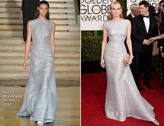 Diane Kruger In Emilia Wickstead – 2015 Golden Globe Awards