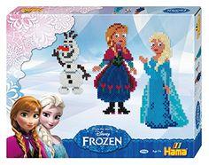 Disney 7946 - Bügelperlen Frozen Geschenk-Box 4000 Perle, mehrfarbig