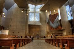 Cathedral of Our Lady of the Angels, Los Angeles, CA by Rafael Moneo.