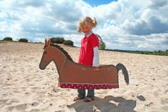 """das Pferd """"Sausewind"""" oder """"Schimmelchen"""" von Holzspielzeuge-Wirulex-Spielmobile auf DaWanda.com"""