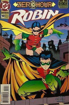 Chris is on Infinite Earths: Robin #10 (1994)