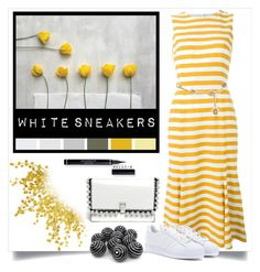 """""""White sneakers!"""" by menina-ana ❤ liked on Polyvore featuring Dolce&Gabbana, Chanel, adidas, Proenza Schouler and whitesneakers"""