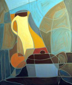 "A Single Fruit by Joseph Holston, 2011, oil on canvas, 40"" x 36"""