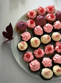 Minicupcakes para celebrar el amor!